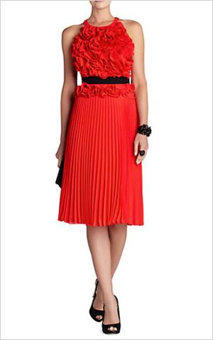 Floral sunburst dress