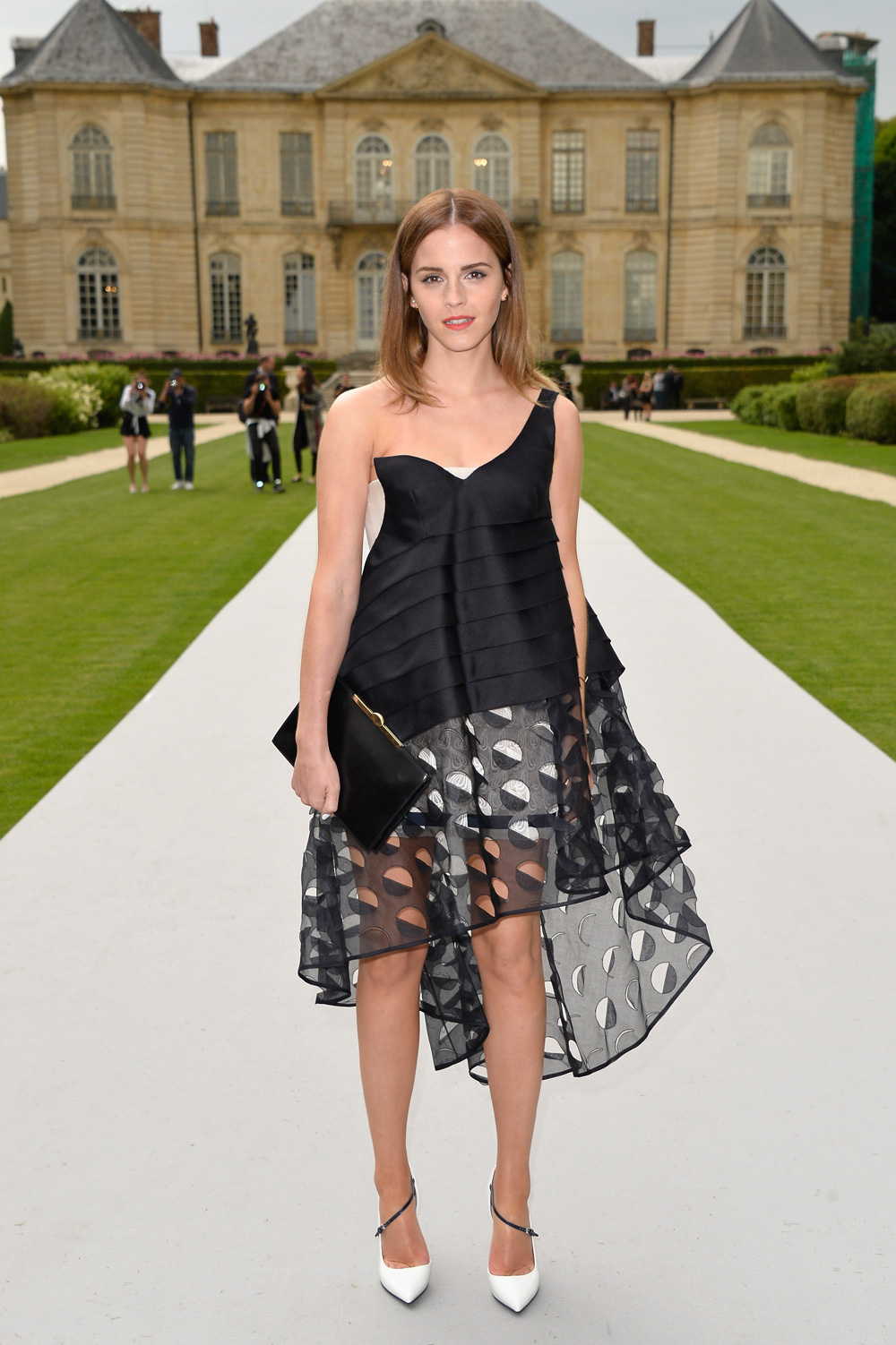 Emma Watson at Paris Fashion Week