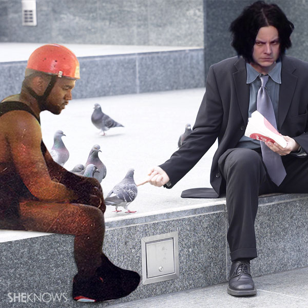 Two is sadder than one: Jack White, Kanye West memes make our day