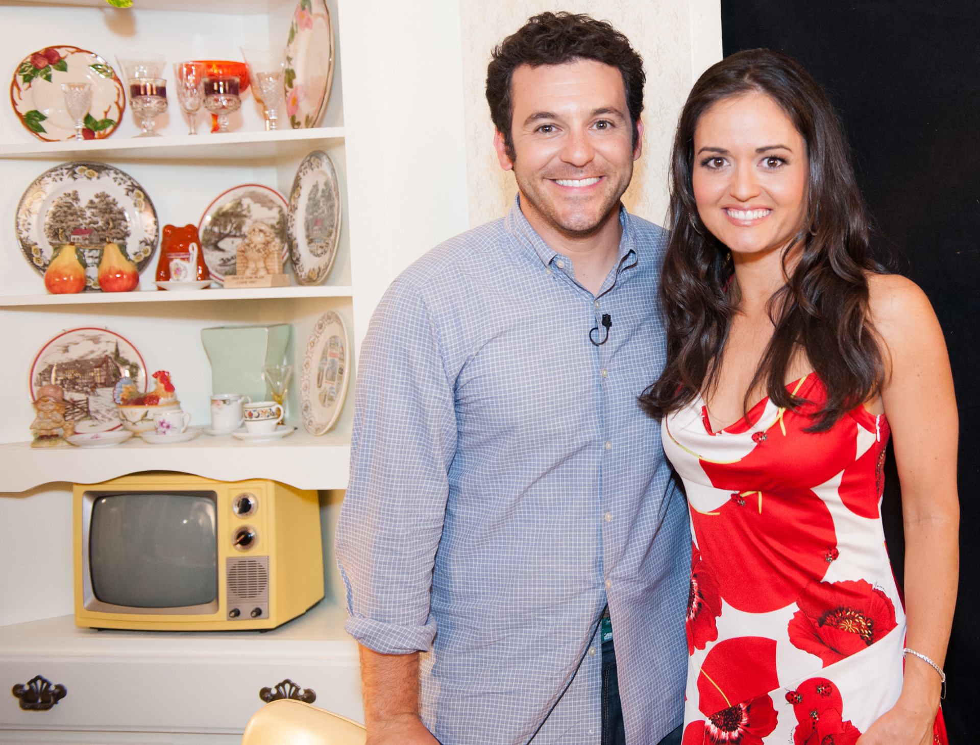 Fred Savage and Danica McKellar