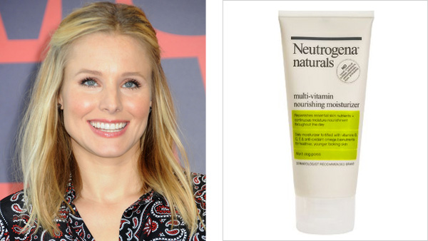 Kristen Bell and Neutrogena Multi-Vitamin Moisturizer