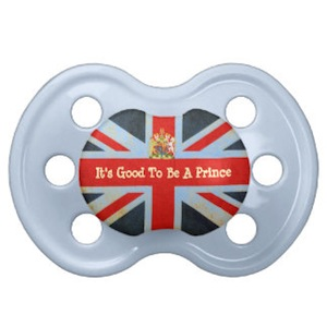 It's good to be prince pacifier