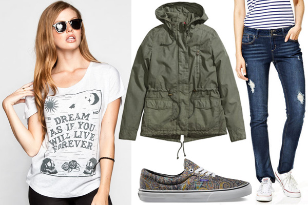 Wordy outfits we love for teens