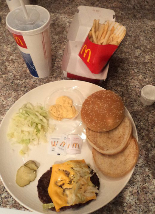 Bet you never thought a Big Mac meal could look like this