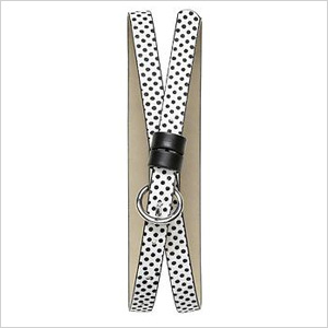 Dot Print Haircalf Belt (bananarepublic.gap.com, $27)