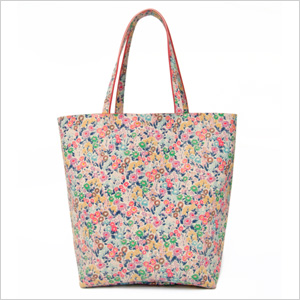 Oak73 Tiny Floral Leather Tote (oak73.com, $180)