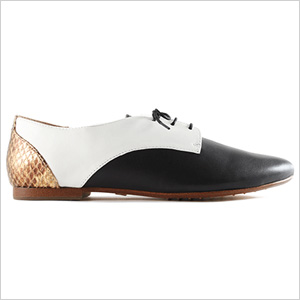 Yosi Samra Paige Leather Oxford (yosisamra.com, $165)