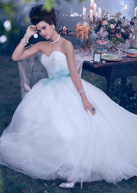 Disney 39 s 2014 wedding dress collection which princess for Cinderella inspired wedding dress