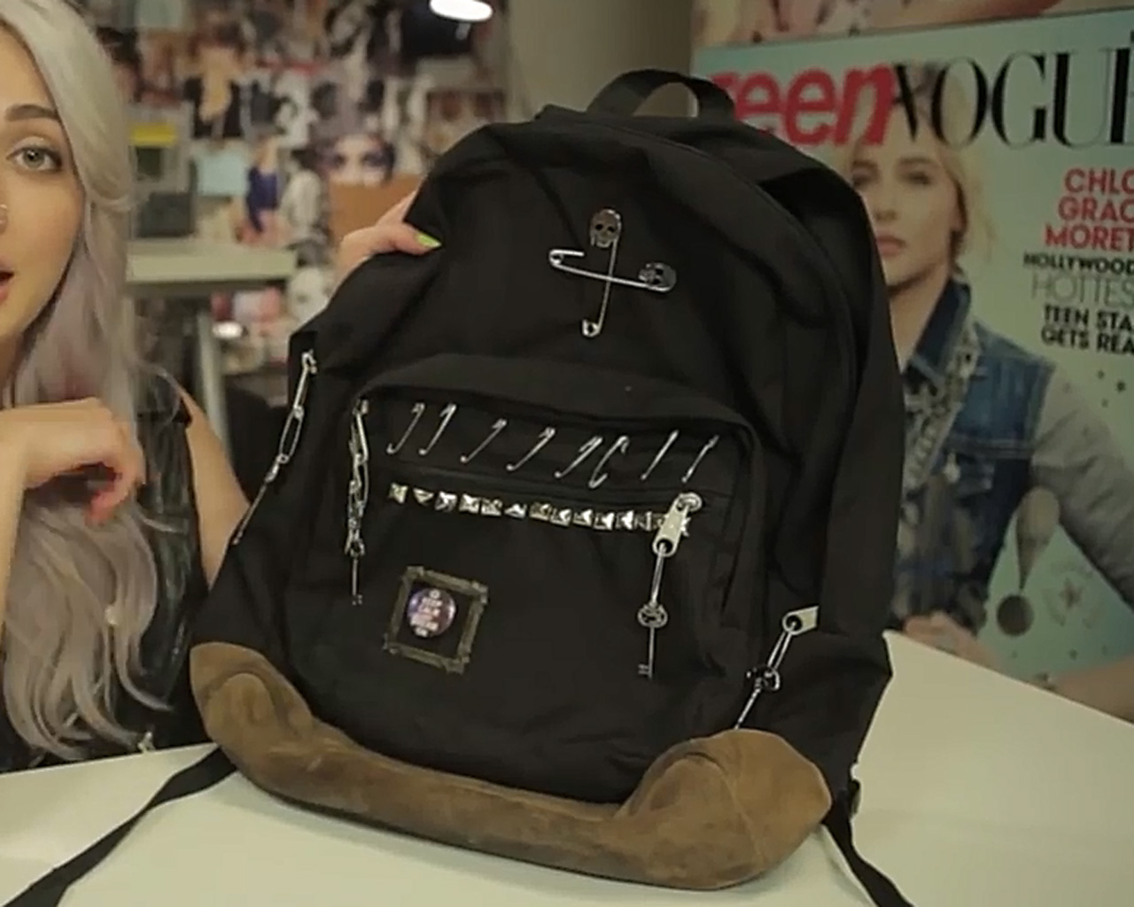 DIY customized backpack | Sheknows.com