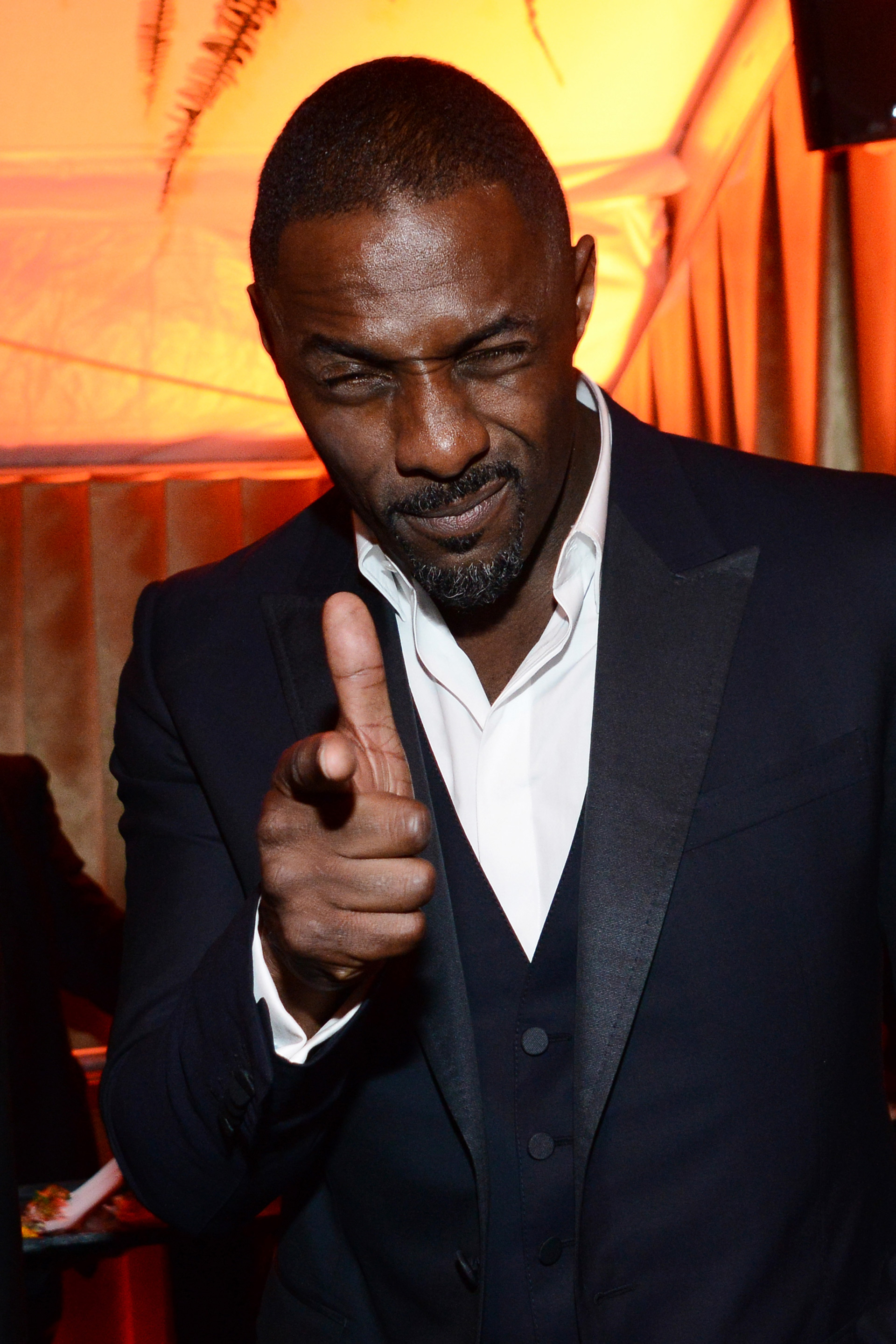 You know who would make a good nanny? Idris Elba