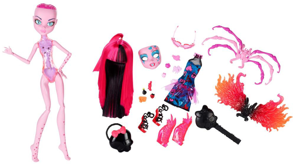 Monster High Inner Monster dolls are for girls filled with hearts and cupcakes