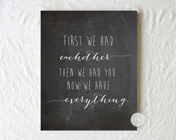 First We Had Each Other | PregnancyAndBaby.com