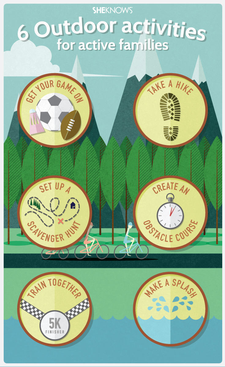 Outdoor activities for families | Sheknows.com