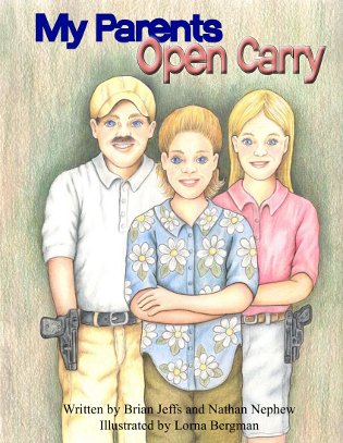 Gun rights children's book teaches kids about open carry, and it's as weird as you'd expect