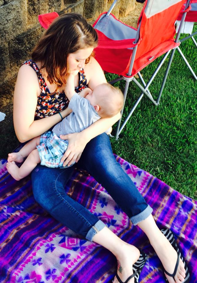 Sam's Club tells mom her breastfeeding photos are too obscene to print