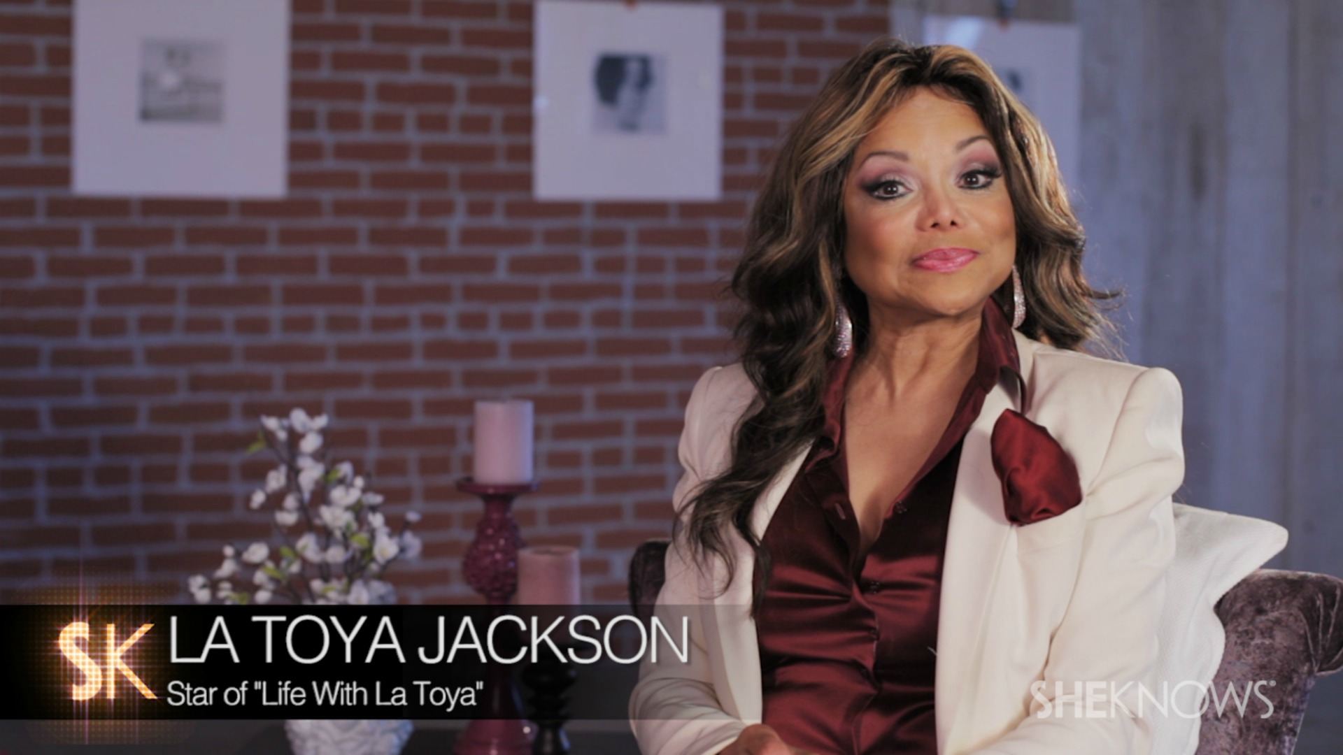 What brought La Toya Jackson's wedding to a halt? The star tells all