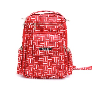 Ju-Ju-Be red backpack