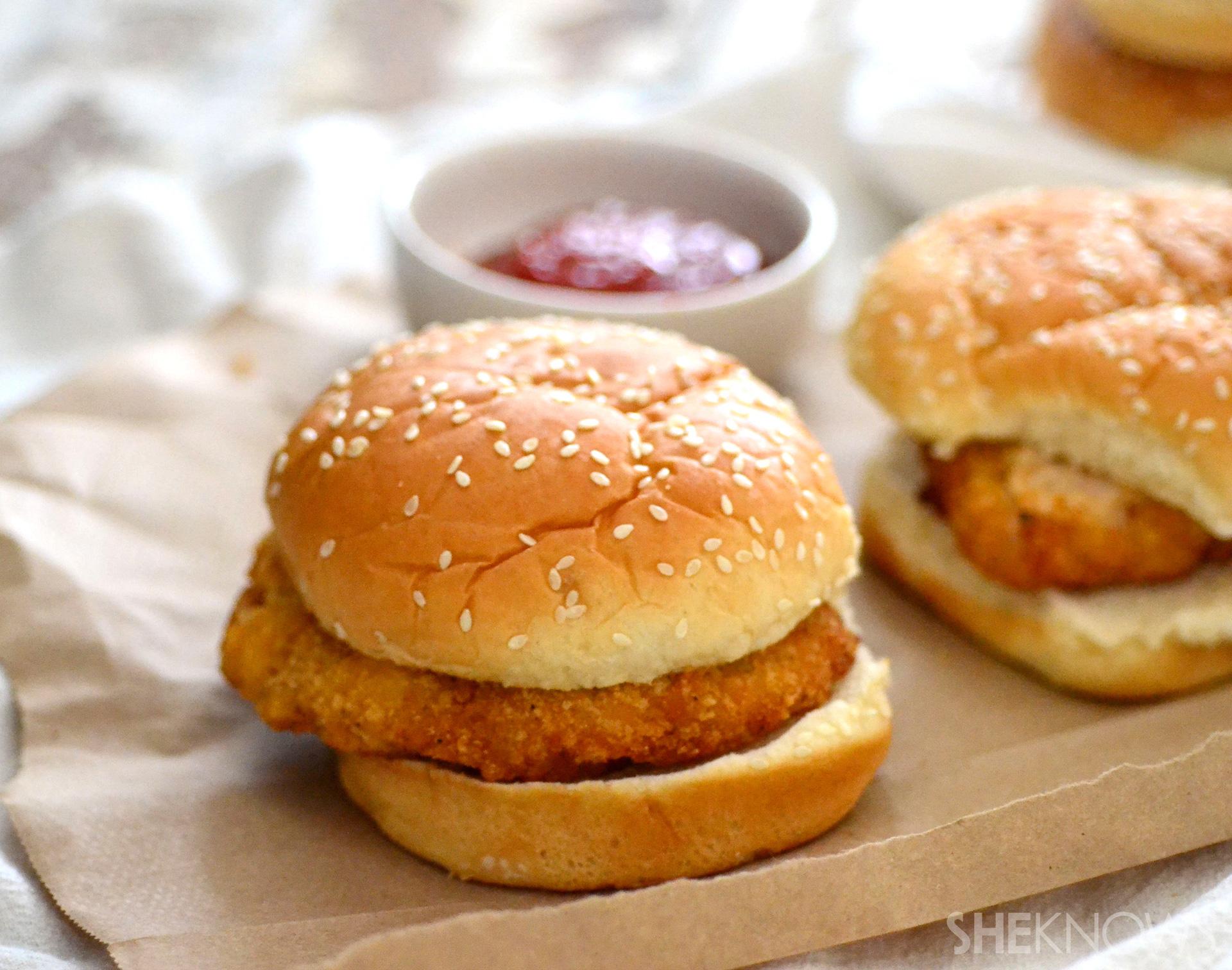 Copycat Chick Fil-A sandwich