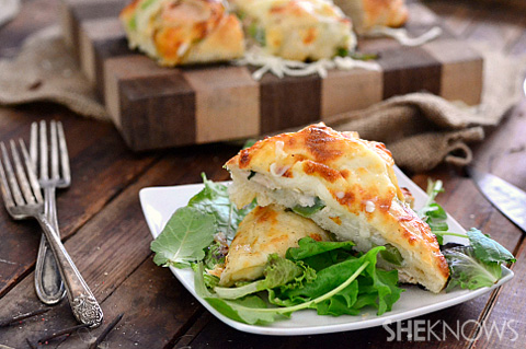 Double baked turkey roll ups