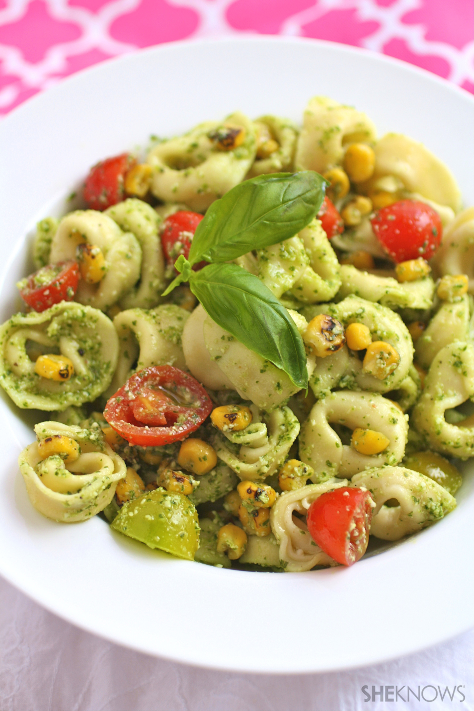 Warm Pasta Salad With Corn And Zucchini Recipes — Dishmaps