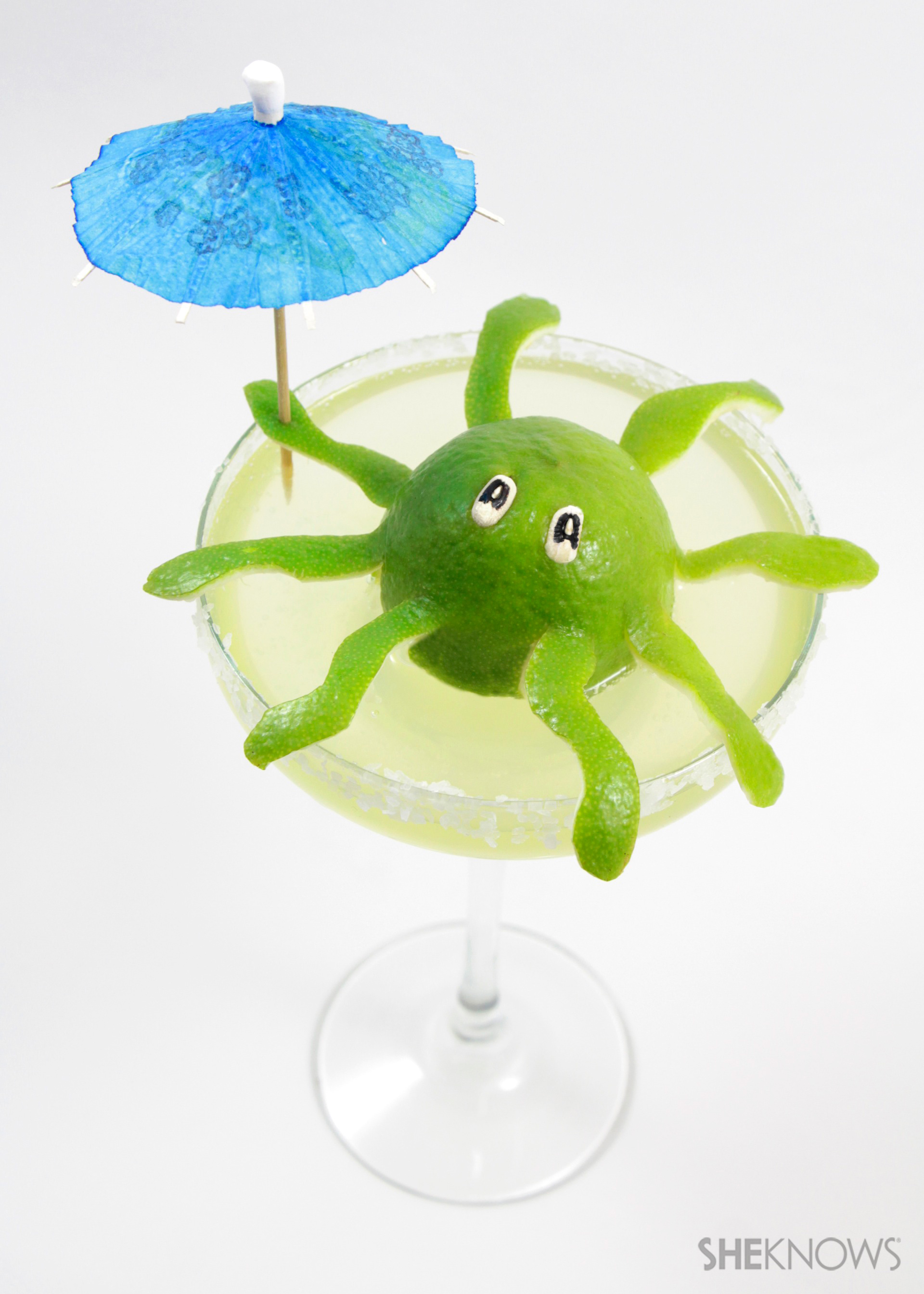 Octopus cocktail critters