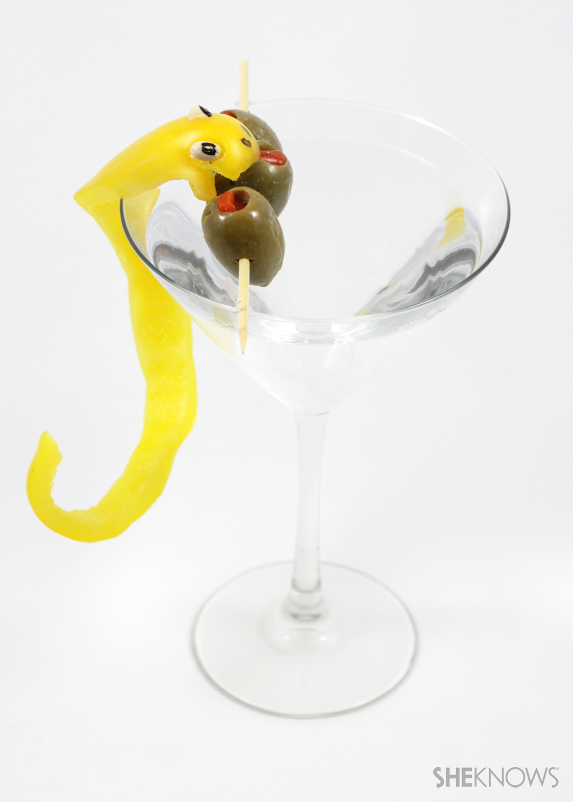 Snake cocktail critters