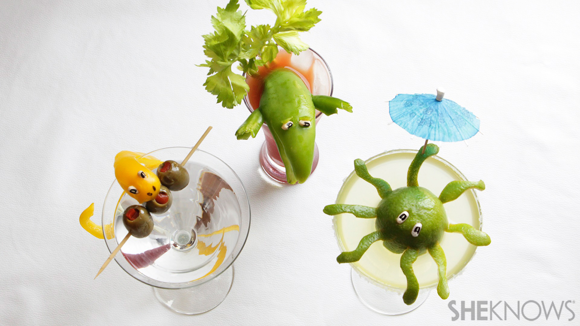 "Homemade cocktail ""critters"" ensure you never have to drink alone"