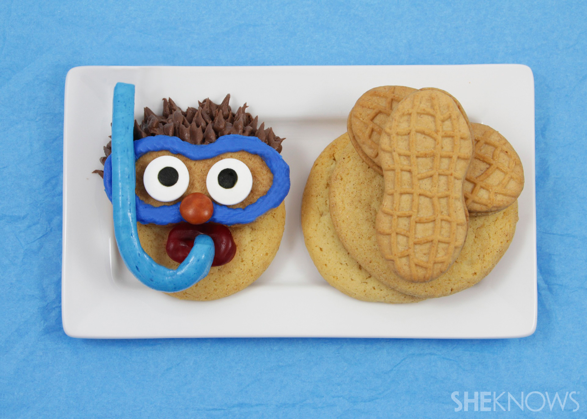 Easy-to-make, no-bake snorkeler cookies are the cutest treats you'll eat this summer