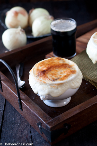 Stout French onion soup