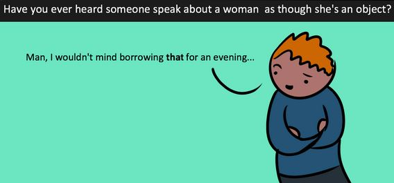 Catcalls aren't compliments, they're offensive, and this cartoon explains it beautifully