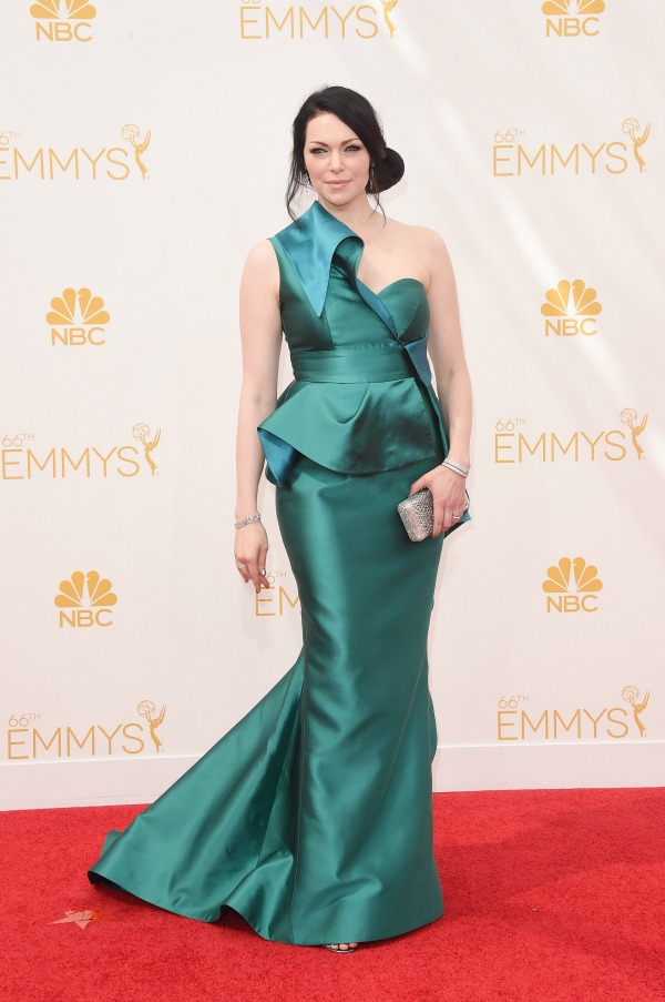 Laura Prepon at the Emmys