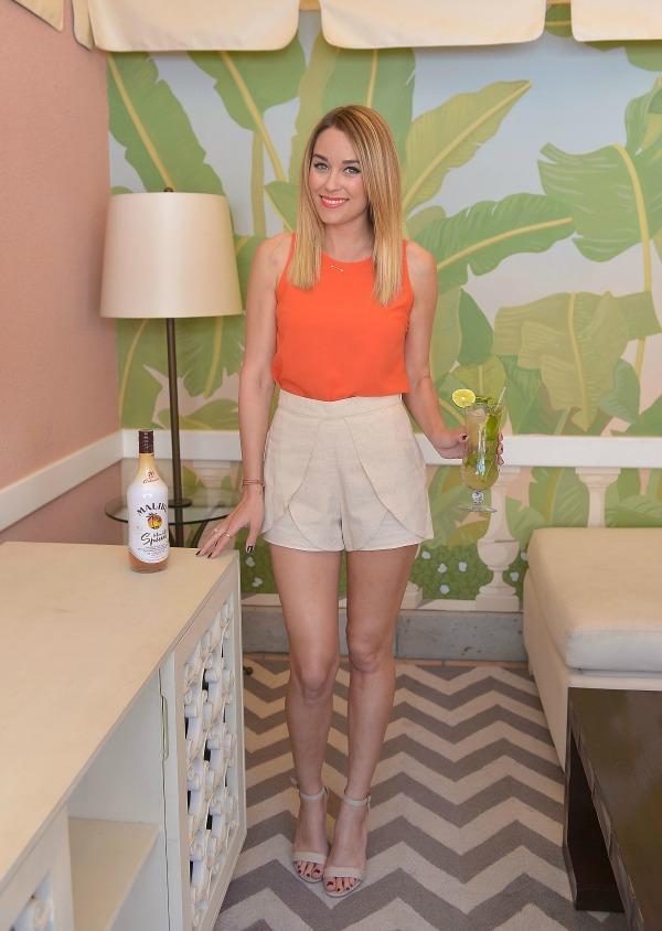 Lauren Conrad shorts suit