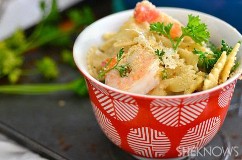 Restaurant Copycat Olive Garden Baked Parmesan Shrimp
