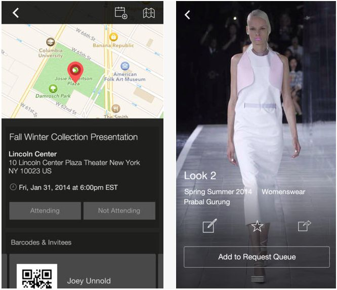 Get a front row view of Fashion Week with these apps