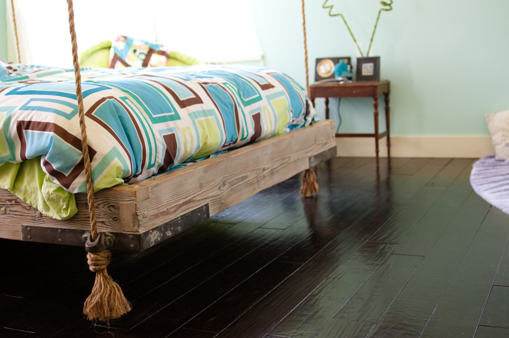 Swing from the rafters with these totally awesome bed frames you can DIY or buy