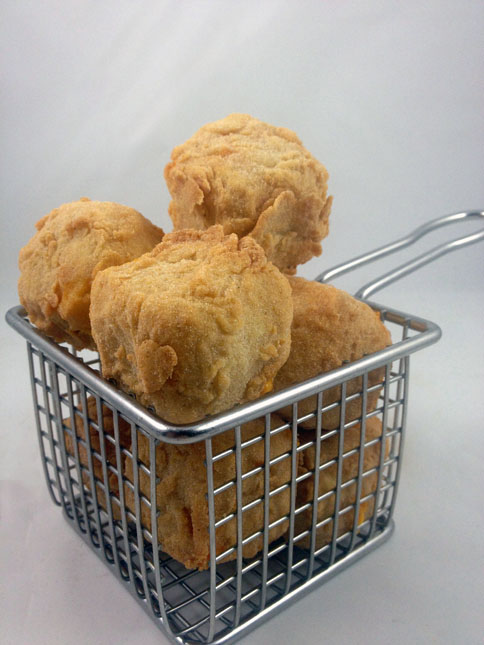 Deep-Fried Nacho Cheese