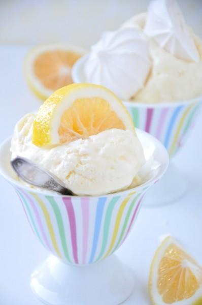 Lemon meringue ice cream recipe