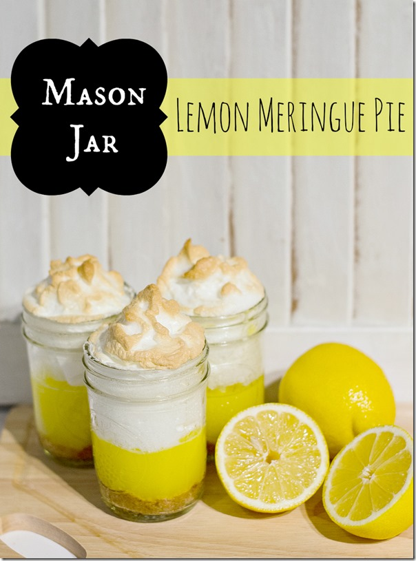 Mason jar lemon meringue pie recipe