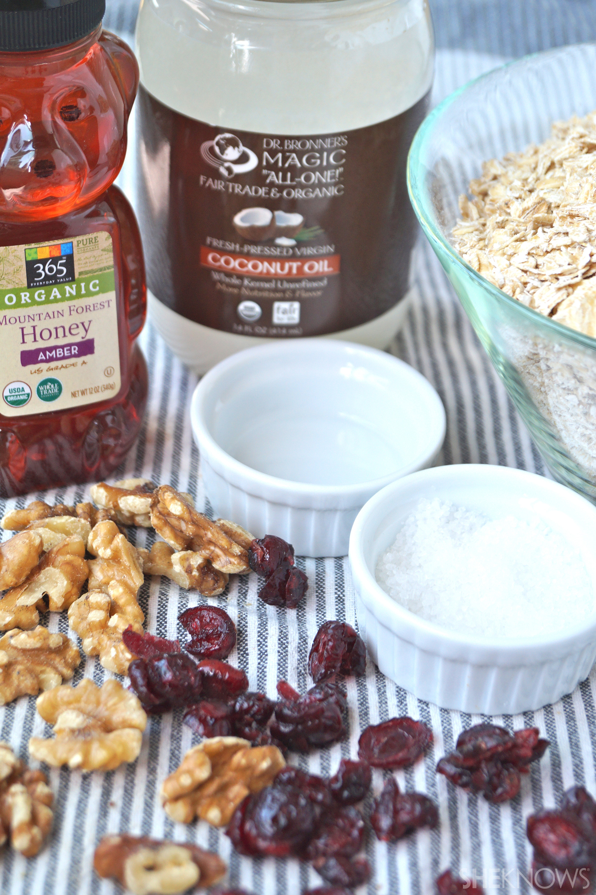 Cranberry Walnut Granola