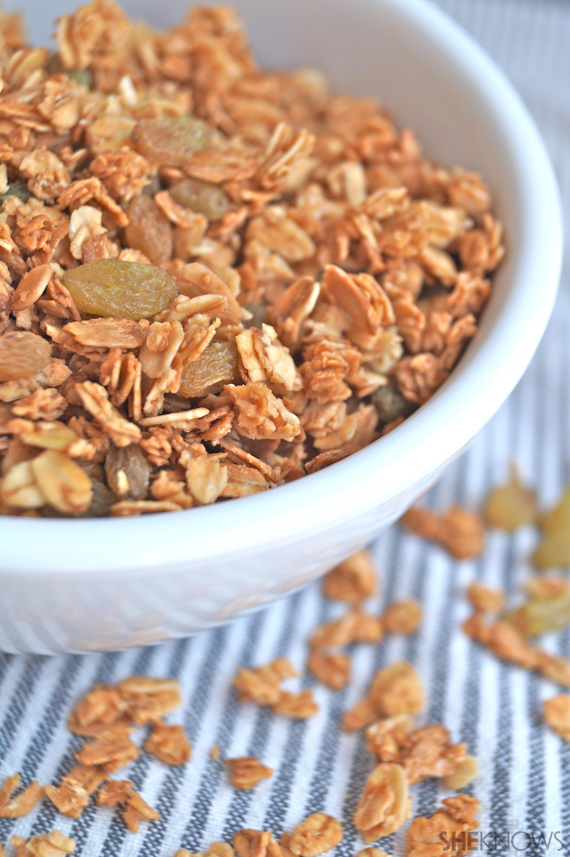 Healthy Honey Granola