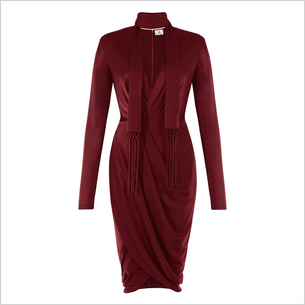 Wrap Dress in Red