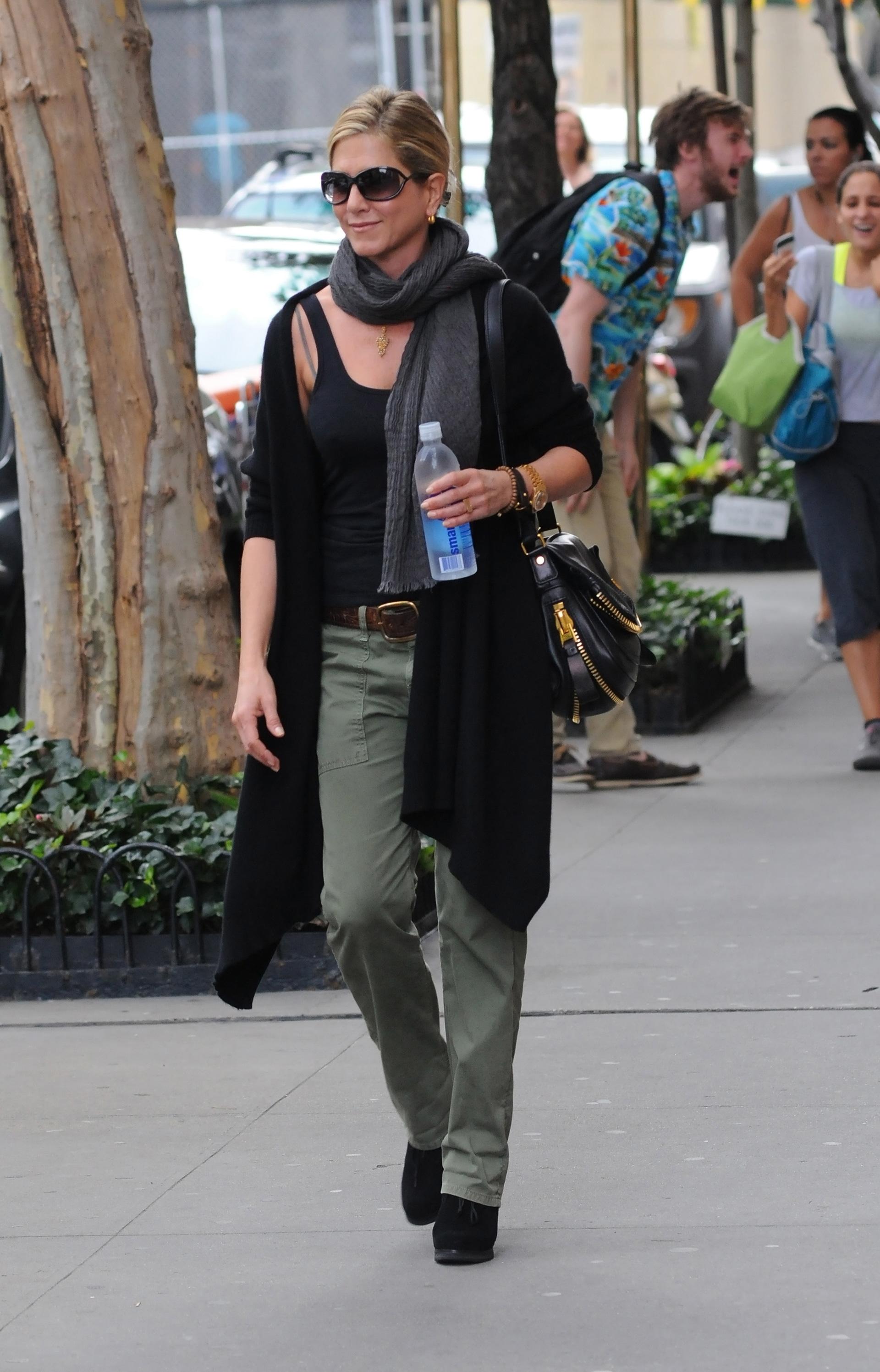 Jennifer Aniston takes a stroll