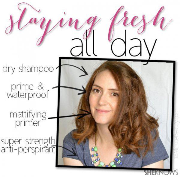 SheKnows Experts share how they stay fresh all day