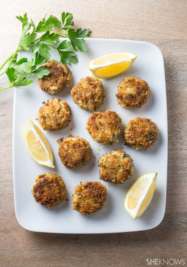 These crab cakes take less than 30 minutes to make