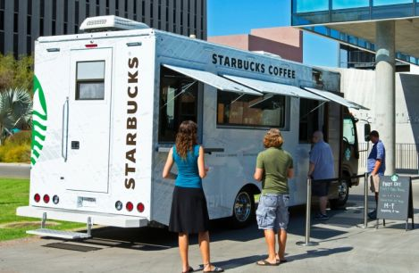 Starbucks and McDonald's finding ways to bring coffee directly to your face