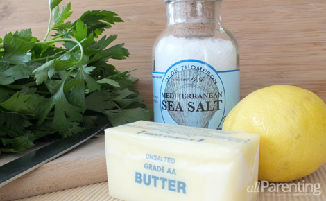 Lemon and herb butter