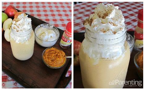 Pumpkin pie shake