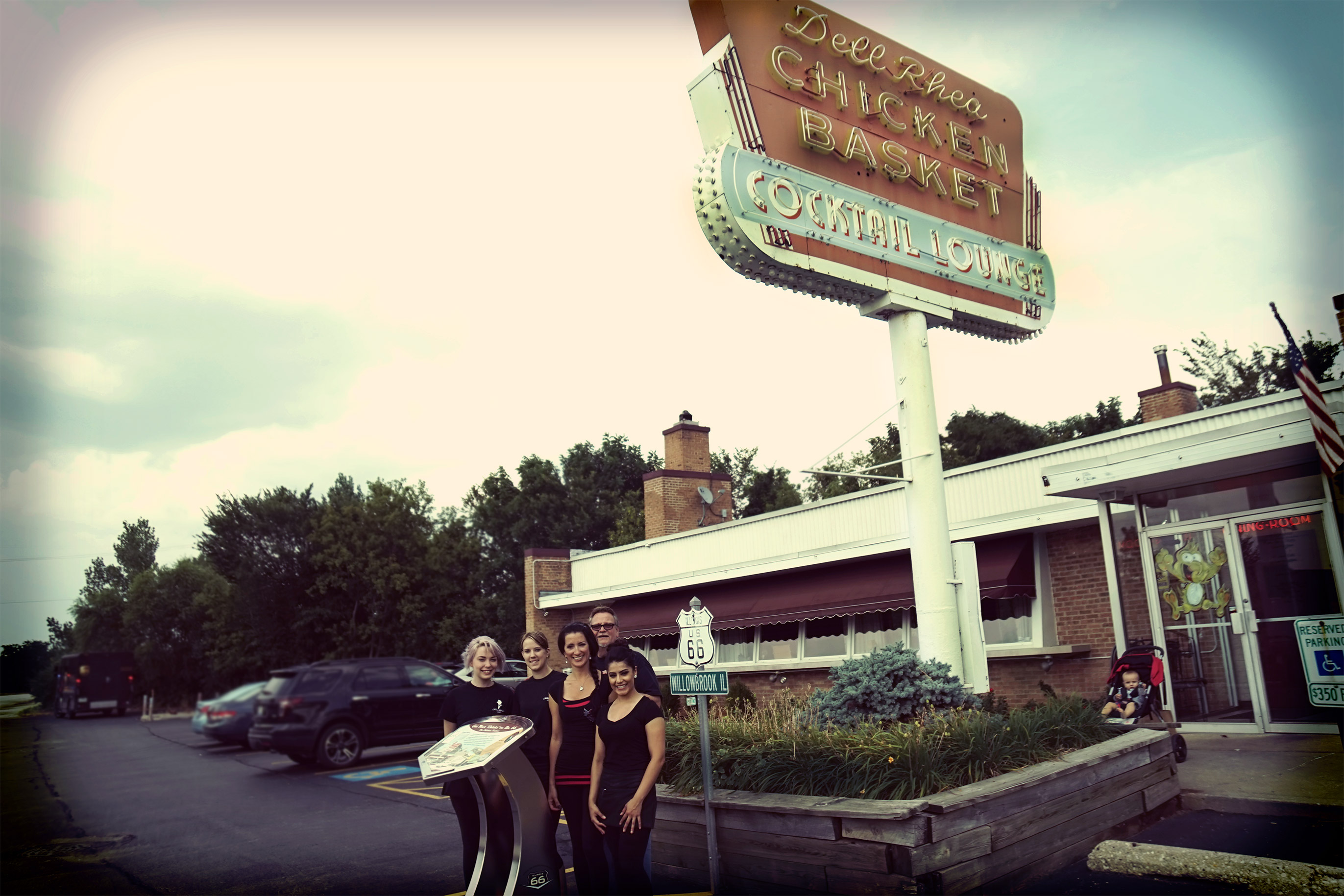 Road tripping down Route 66 Day 1: Dell Raye Chicken Basket