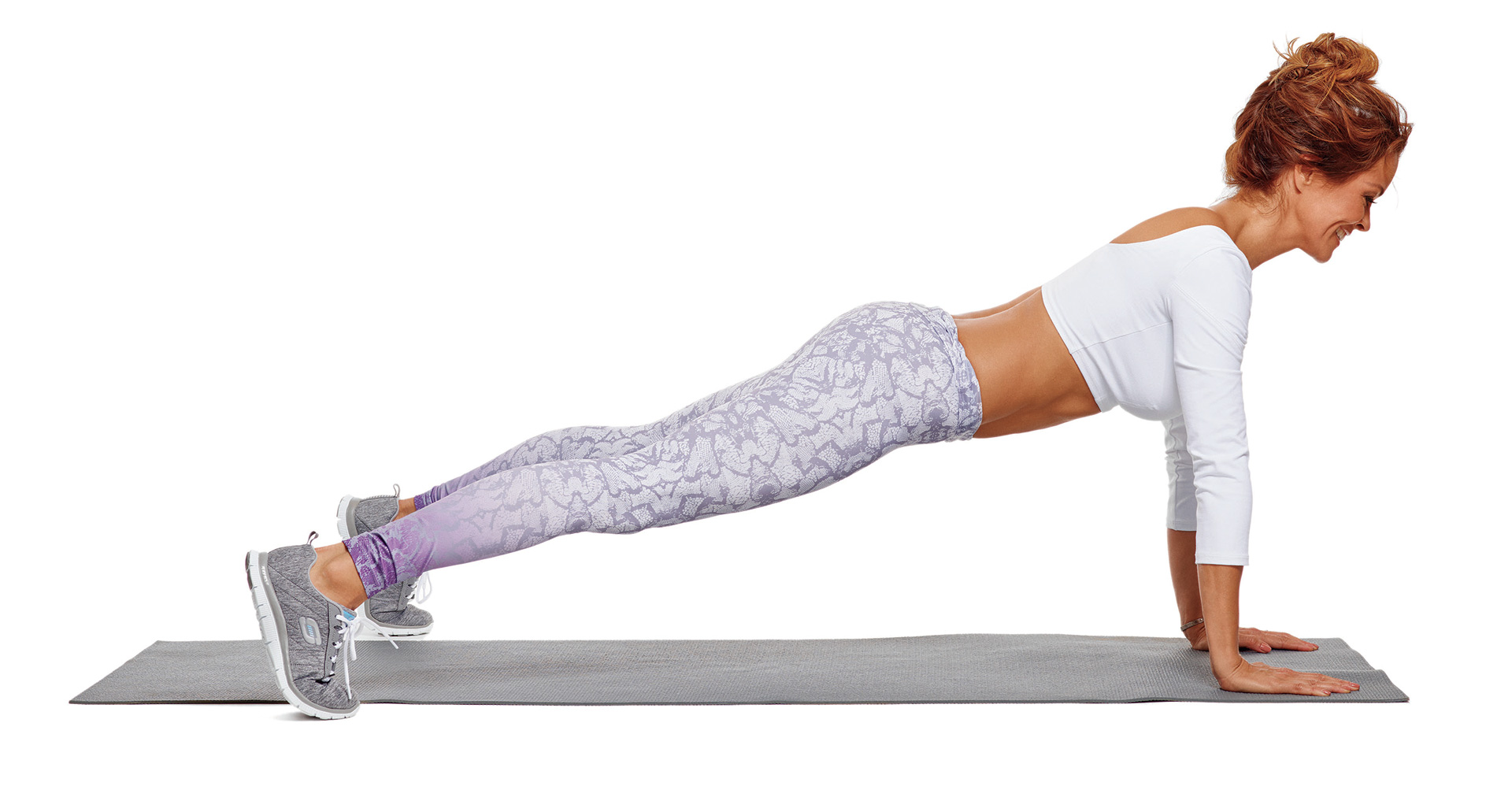 Tap-out plank
