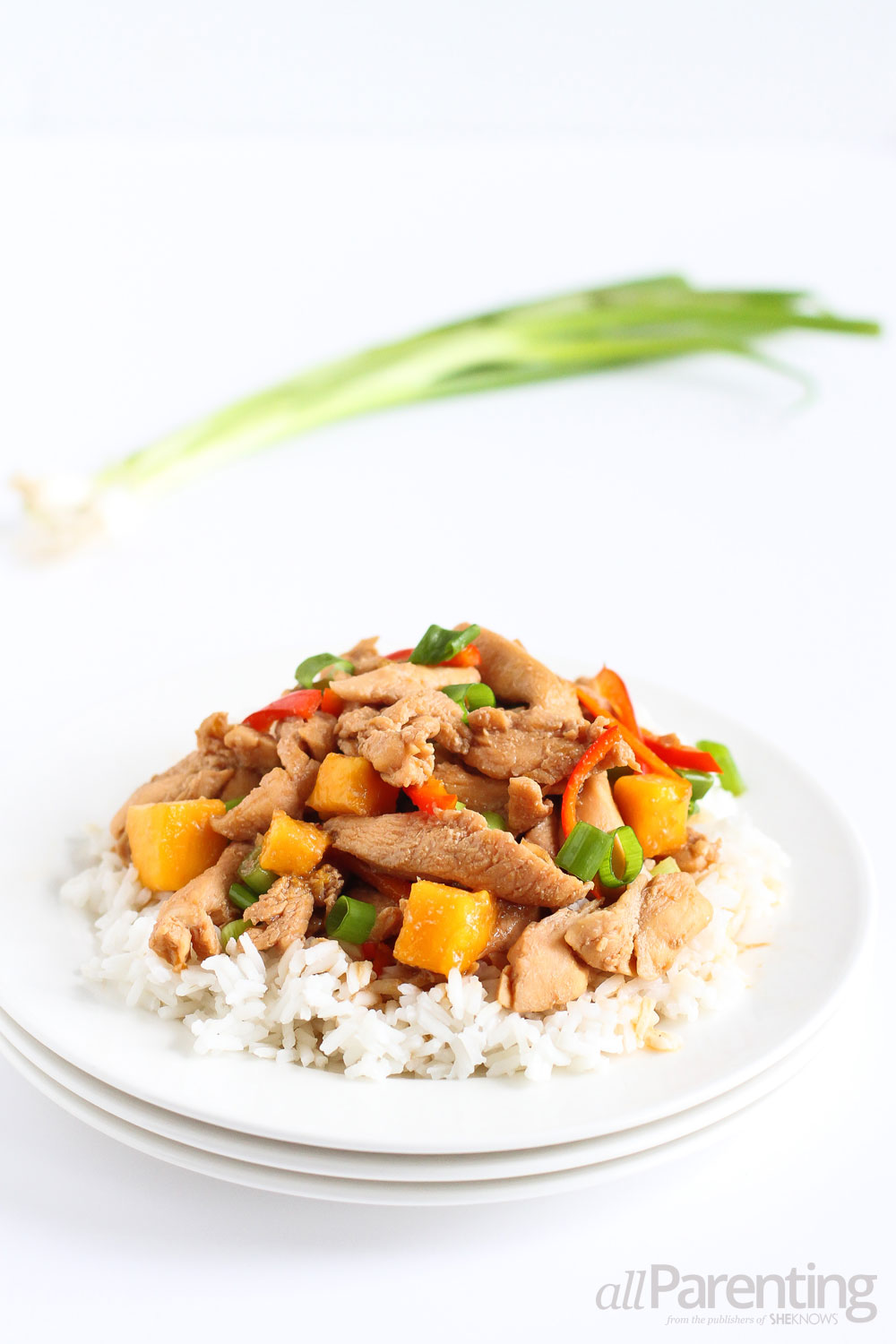 allParenting Chicken and mango stir-fry